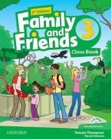 Family and Friends 3. Class Book + 2014 2nd Edition