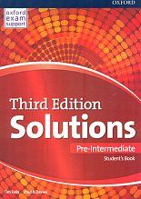 Solutions. Pre-Intermediate. Student's Book  3nd edition