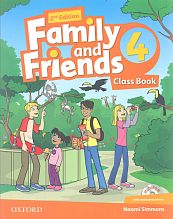 Family and Friends 4. Class Book + CD  2014  2nd Edition