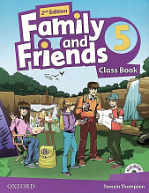 Family and Friends 5. Class Book + 2014  2nd Edition